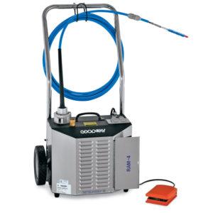 Goodway Limpiador de tubos Chiller Ram-4-60