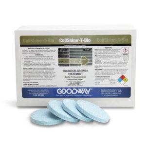 Pastillas protectoras de serpentines CoilShine T-Bio Goodway