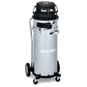 aspiradora industrial de recuperacion de hollin y polvo limpieza de calderas goodway