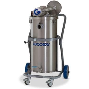 Goodway Aspiradora Antiexplosiva Accionada por Aire