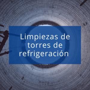 Maquinaria y accesorios para limpieza de la torre de refrigeración